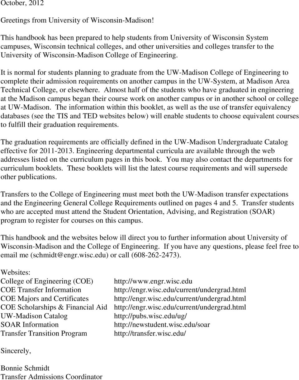 University Of Wisconsin Madison Pdf