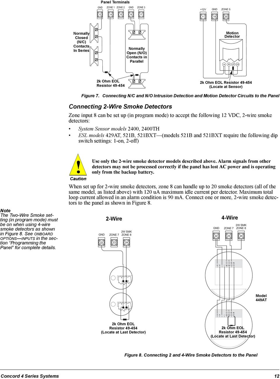 Concord 4 Motion Sensor Wiring Diagram Schematic Diagrams 2wire Wire Series Security Systems Pdf Switch