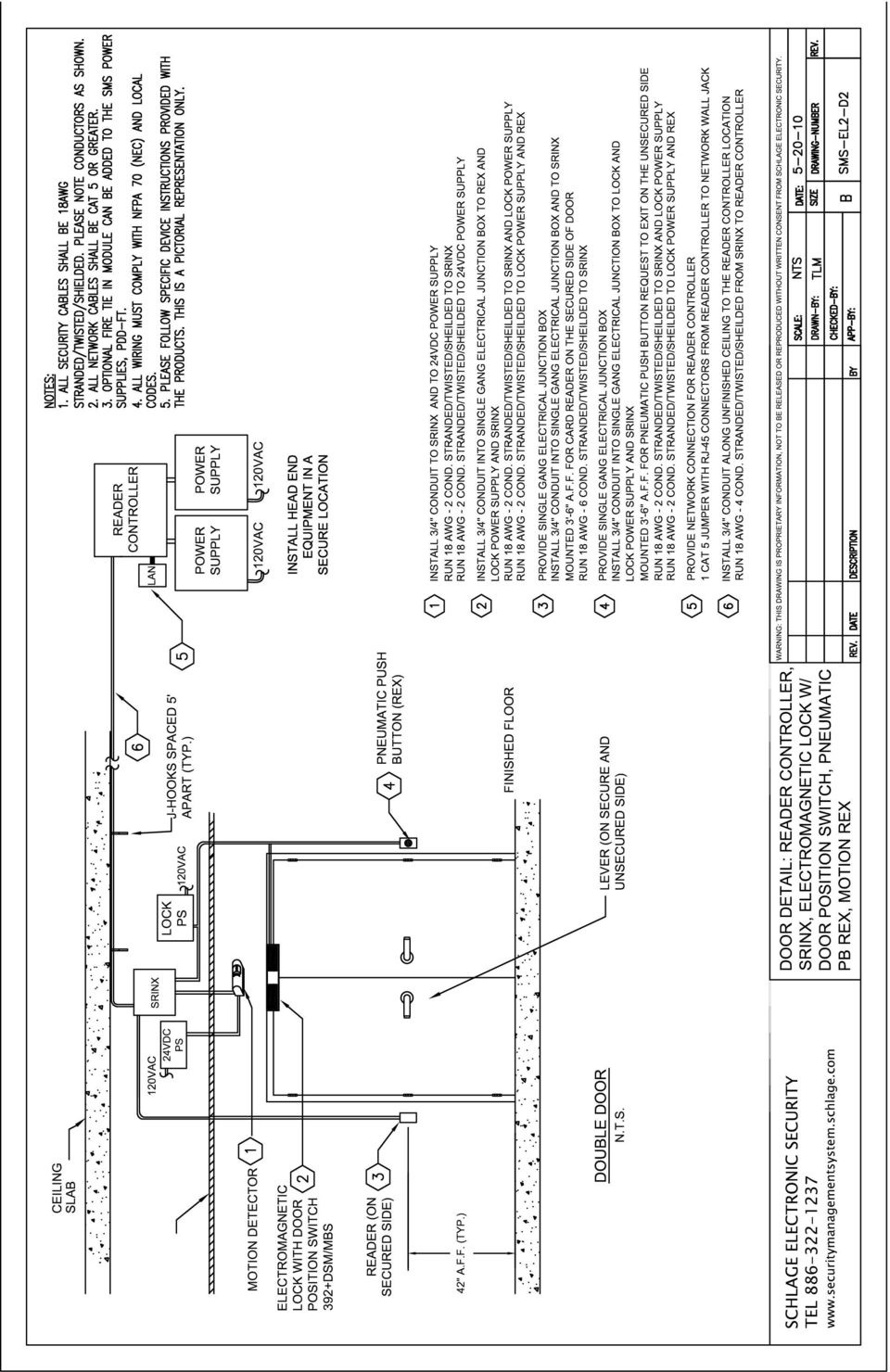 14 sms wiring portfolio section 3 mortise lock diagrams wiring details for  the reader controller and the srinx reader interface diagram # page #  sms-ml1-w1