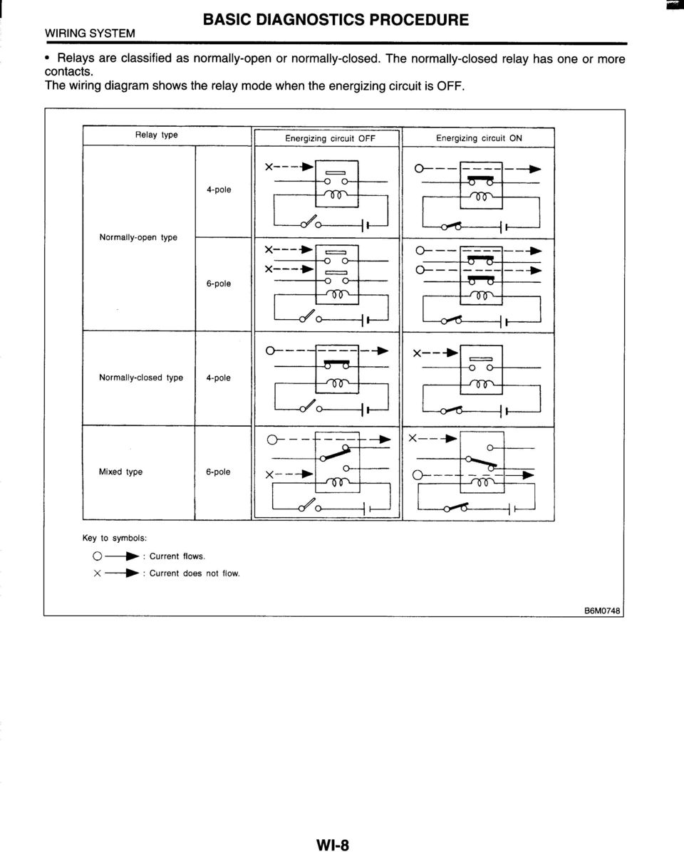 Wiring System Section Pdf 6 Pole Diagram The Shows Relay Mode When Energizing Circuit Is Off