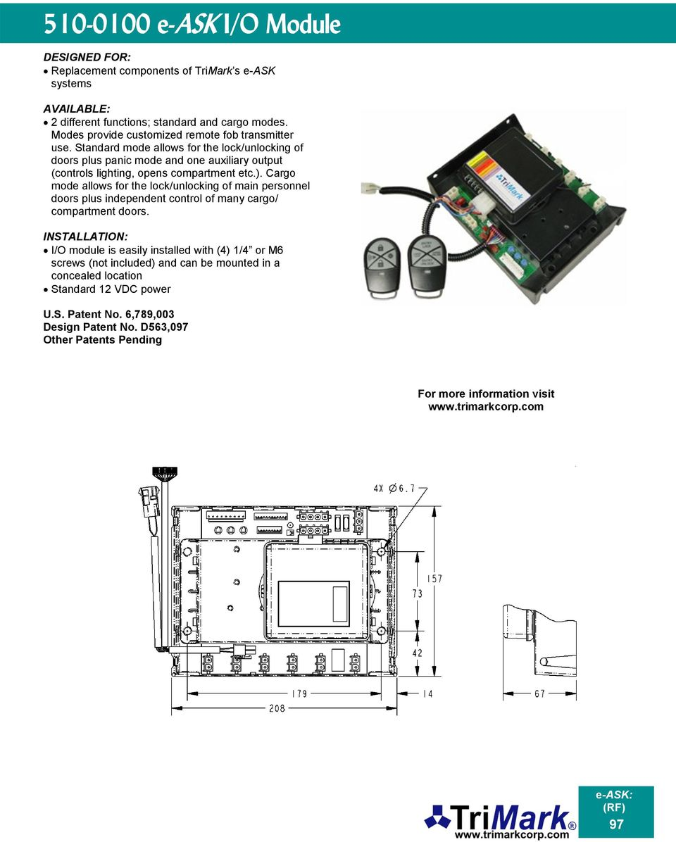 e-ask System (electronic Access & Security Keyless-entry) - PDF