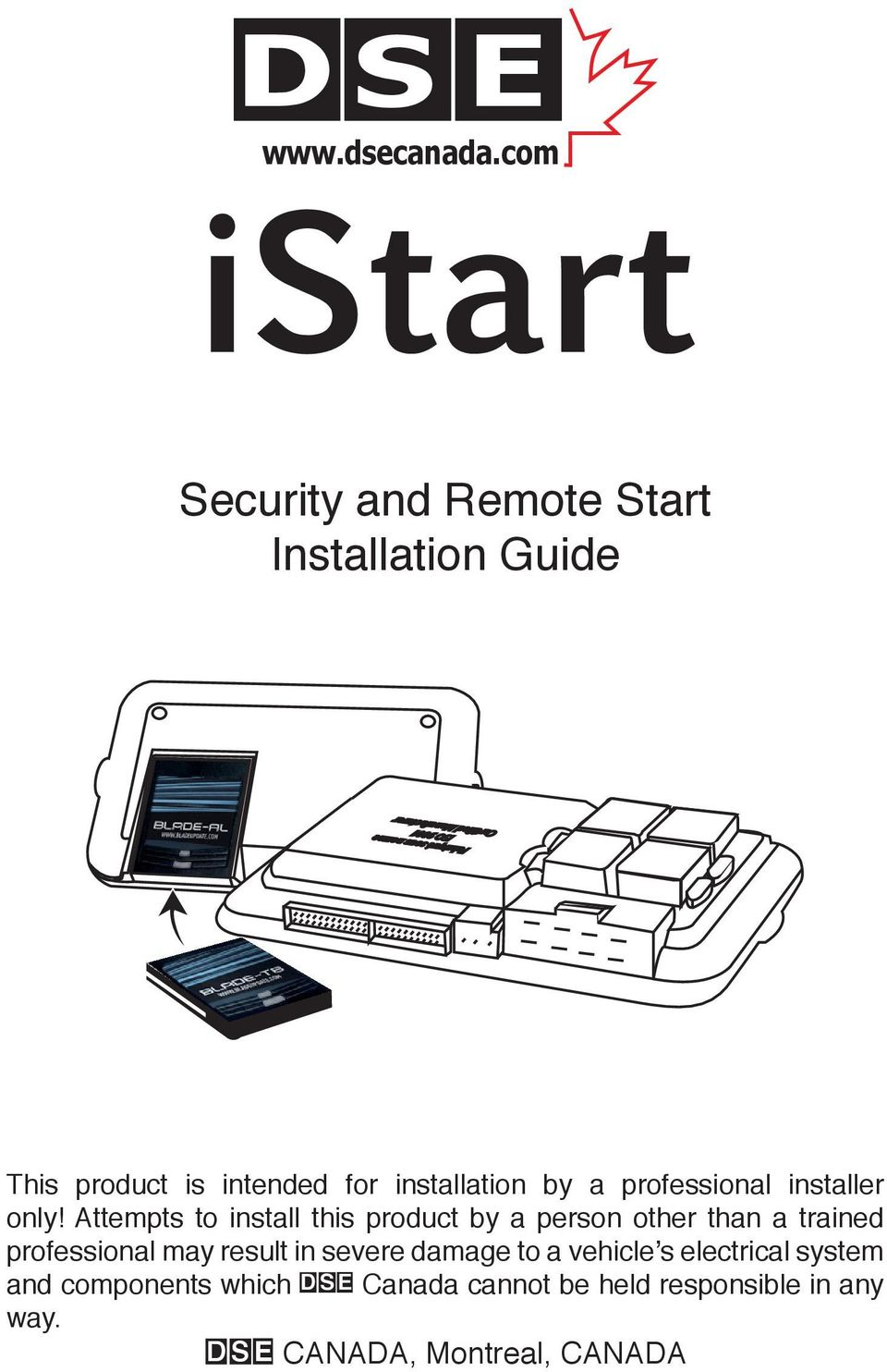 page_1 istart security and remote start installation guide iso 9001