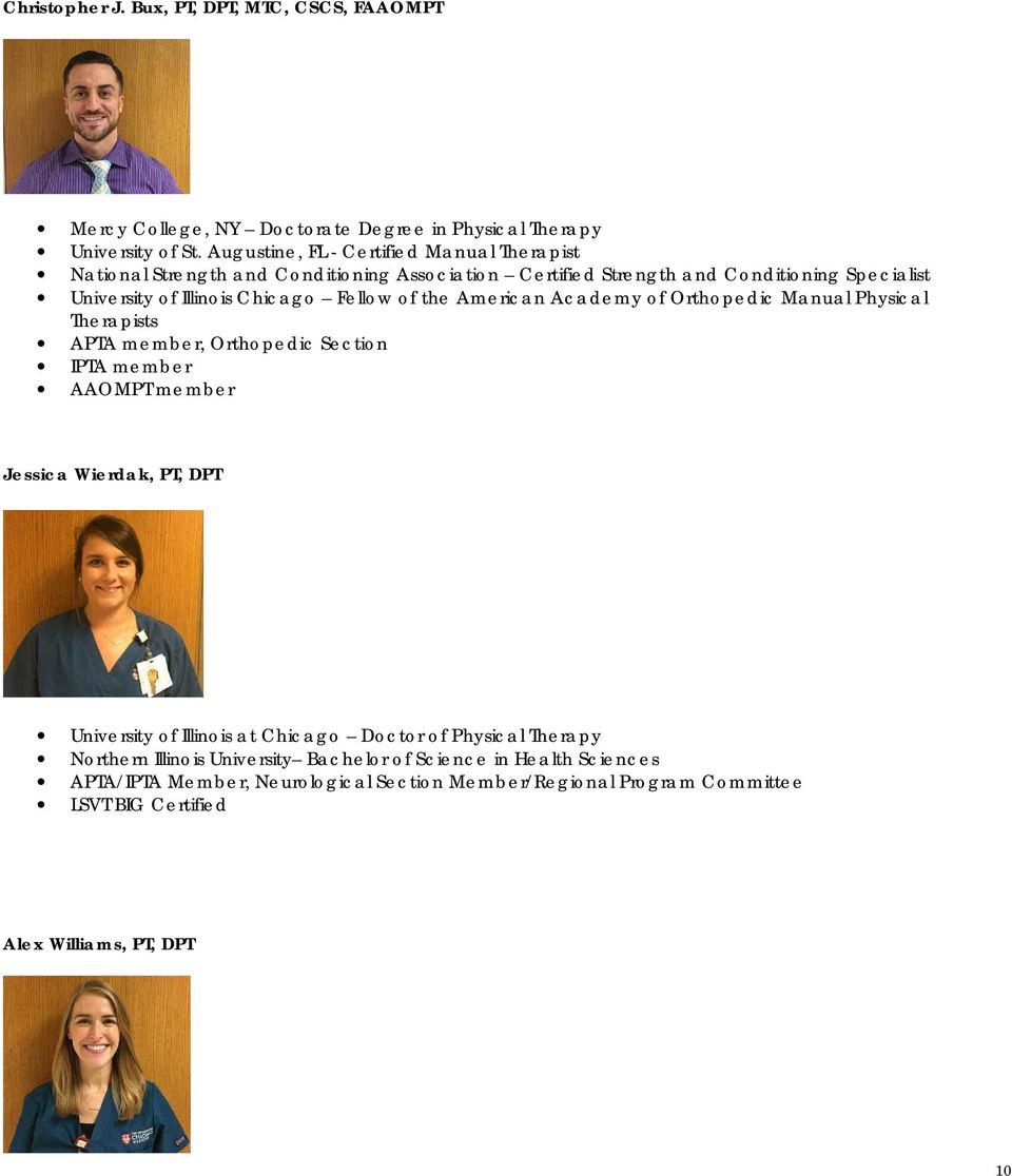 Meet Your Therapist at UCMC - PDF