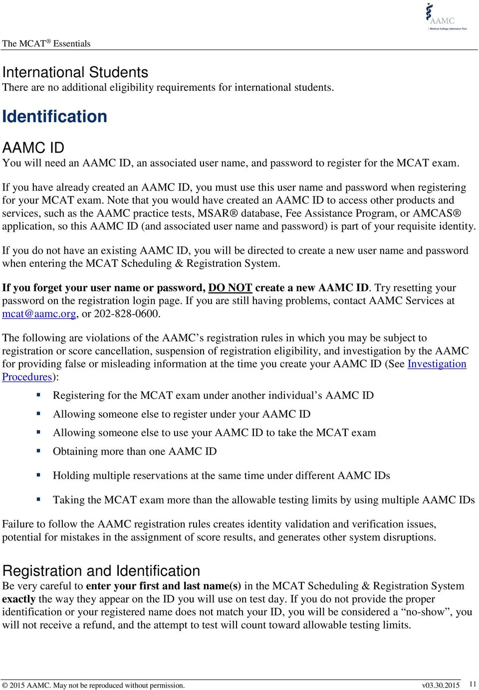 The MCAT Essentials for Testing Year PDF