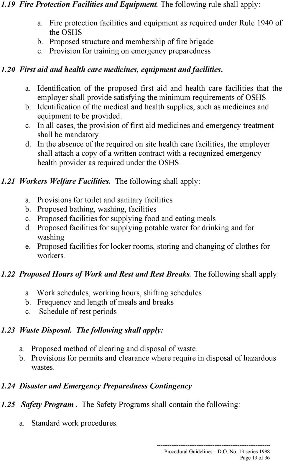Attire-permit for fire work: clearance, safety instruction