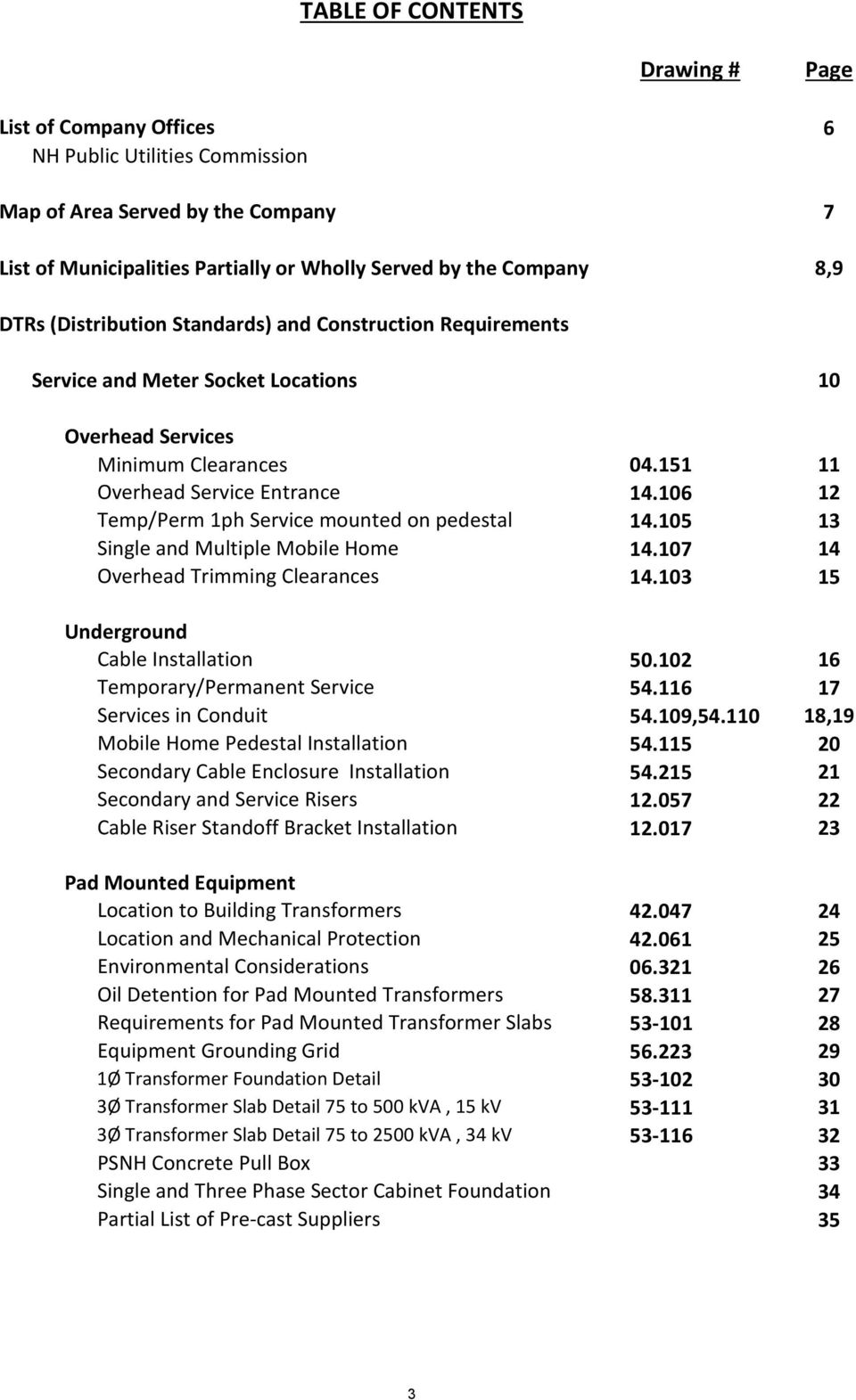 New Hampshire Requirements for Electric Service Connections
