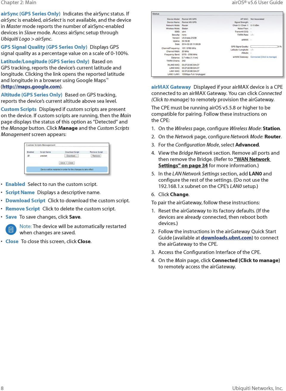 Operating System for Ubiquiti M Series Products Release