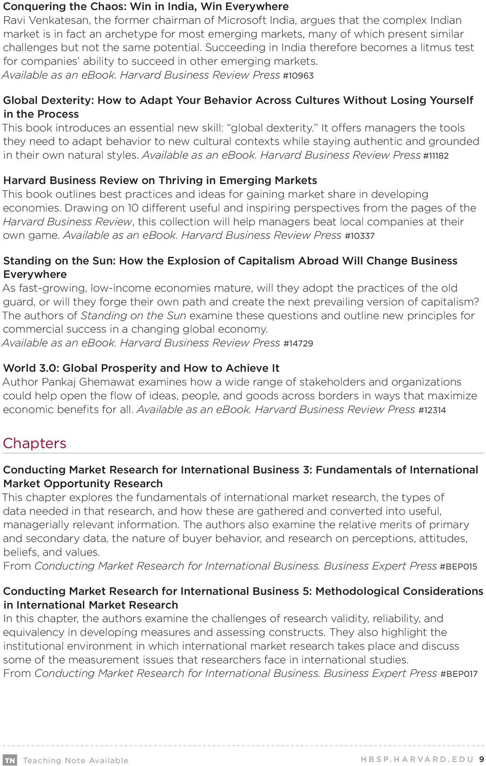 International business articles books chapters cases course available as an ebook fandeluxe Gallery