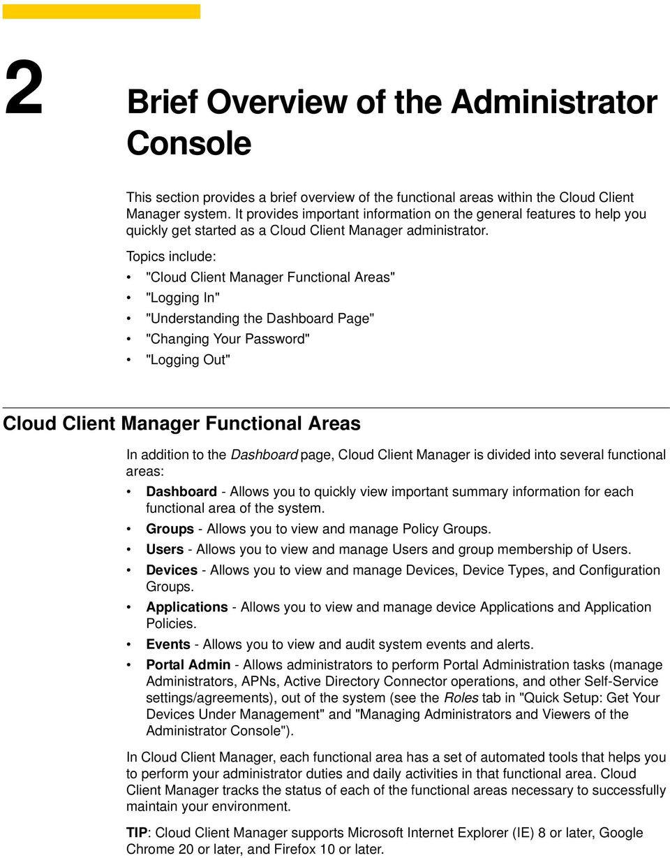 Administrators Guide  Dell Wyse Cloud Client Manager  Issue