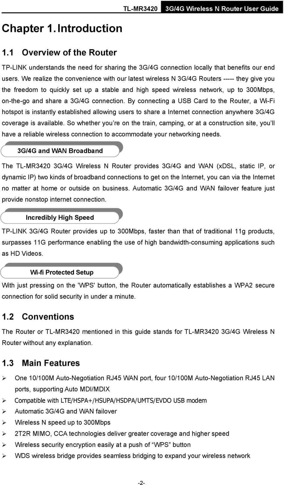 Tl Mr3420 3g 4g Wireless N Router Pdf Tplink By Connecting A Usb Card To The Wi