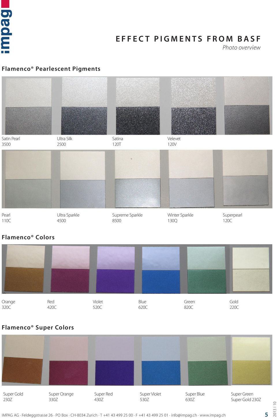 Effect Pigments From Basf Photo Overview Pdf