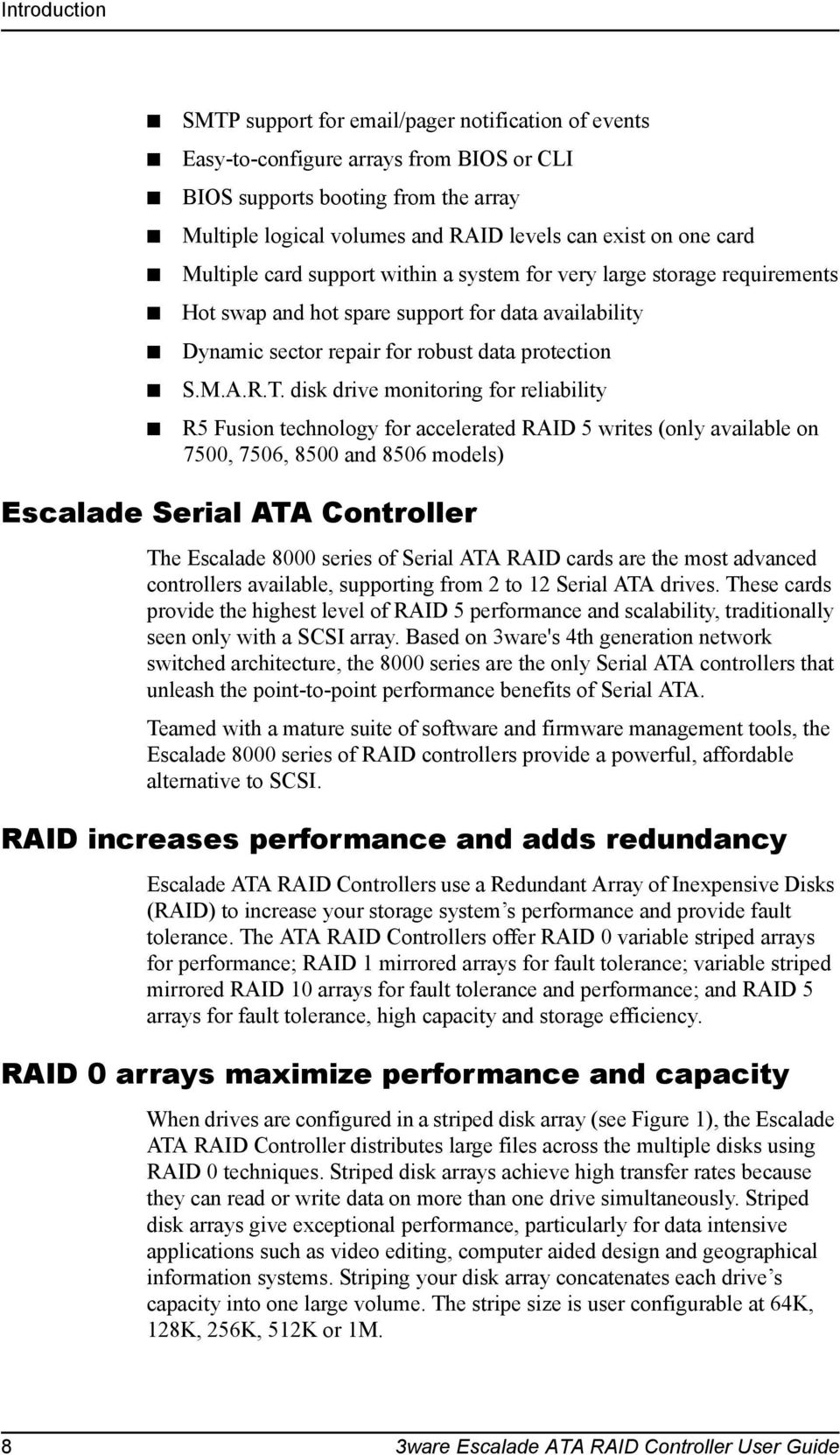 3WARE ESCALADE 8000 SERIES ATA RAID CONTROLLER WINDOWS 10 DRIVERS