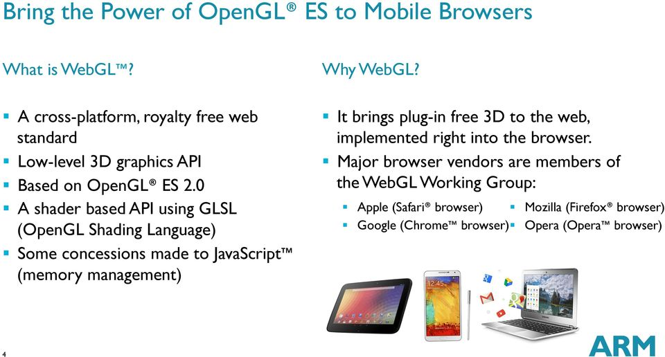 Performance Optimization and Debug Tools for mobile games with