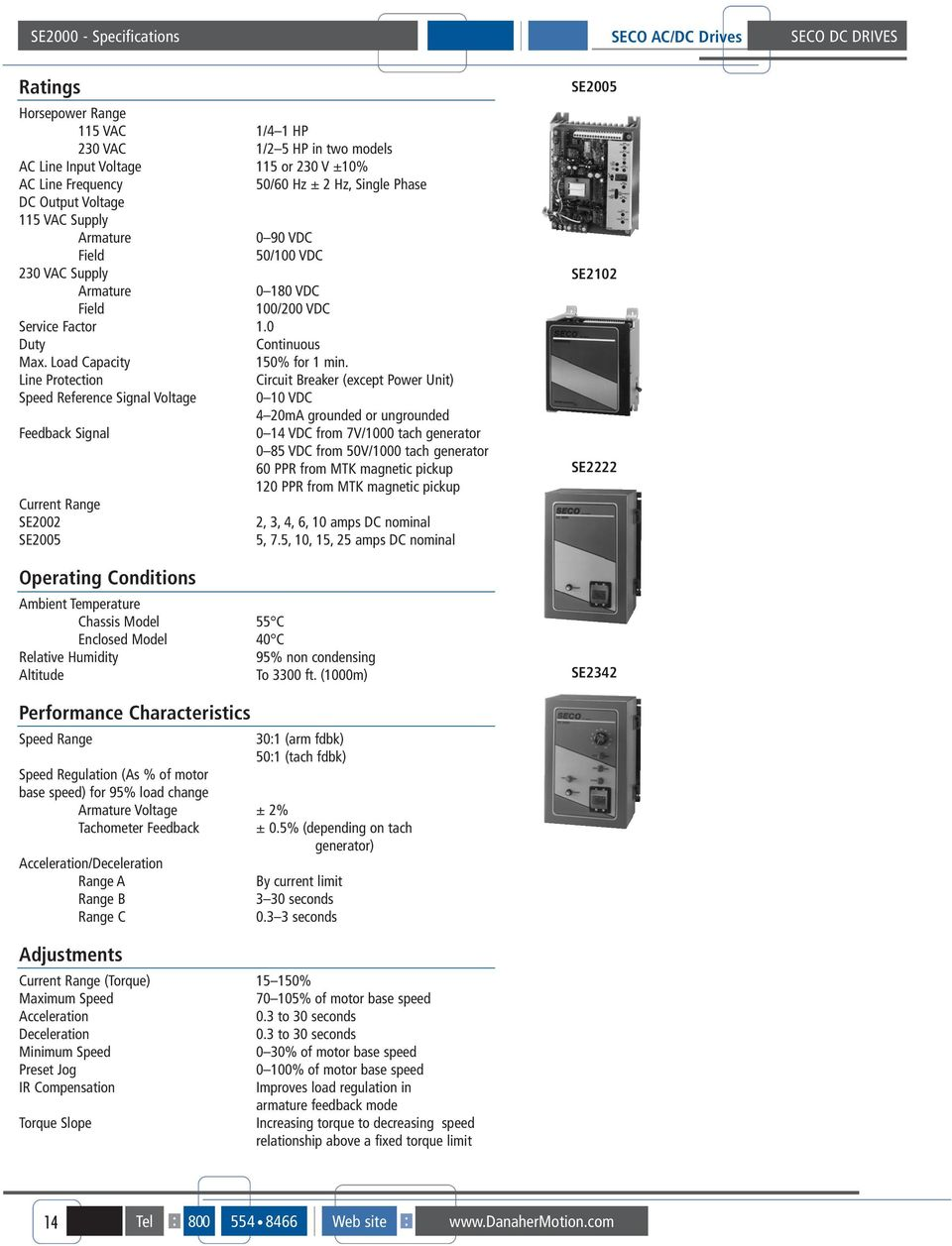 August Seco Dc Drives Table Of Contents Pdf To Ac Generator Wiring Diagram Tachometer Line Protection Circuit Breaker Except Power Unit Speed Reference Signal Voltage 0 Vdc