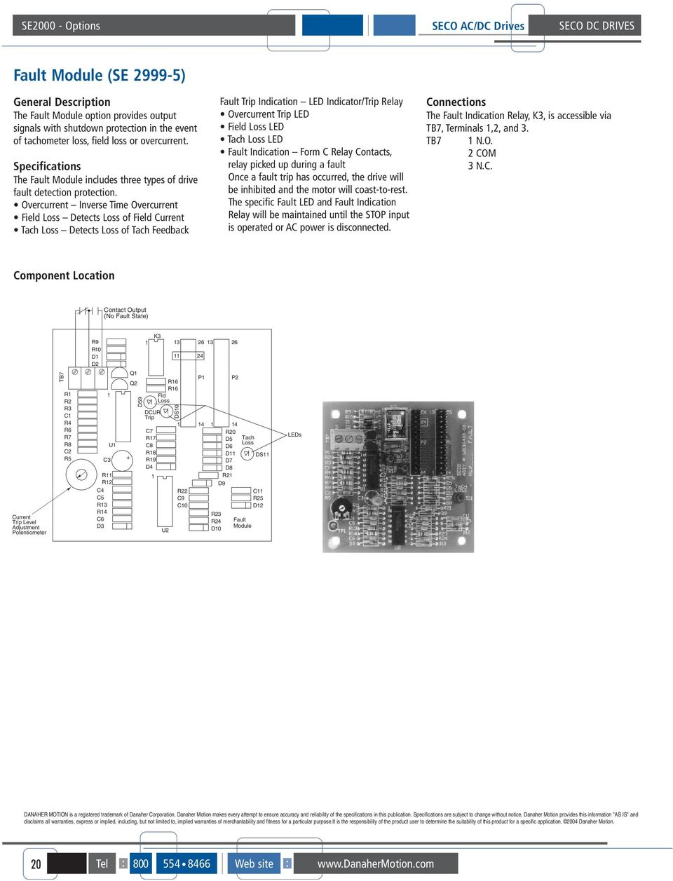 August Seco Dc Drives Table Of Contents Pdf Forward And Reverse Operation The Dynamic Braking Circuit 2 Overcurrent Inverse Time Field Loss Detects Current Tach