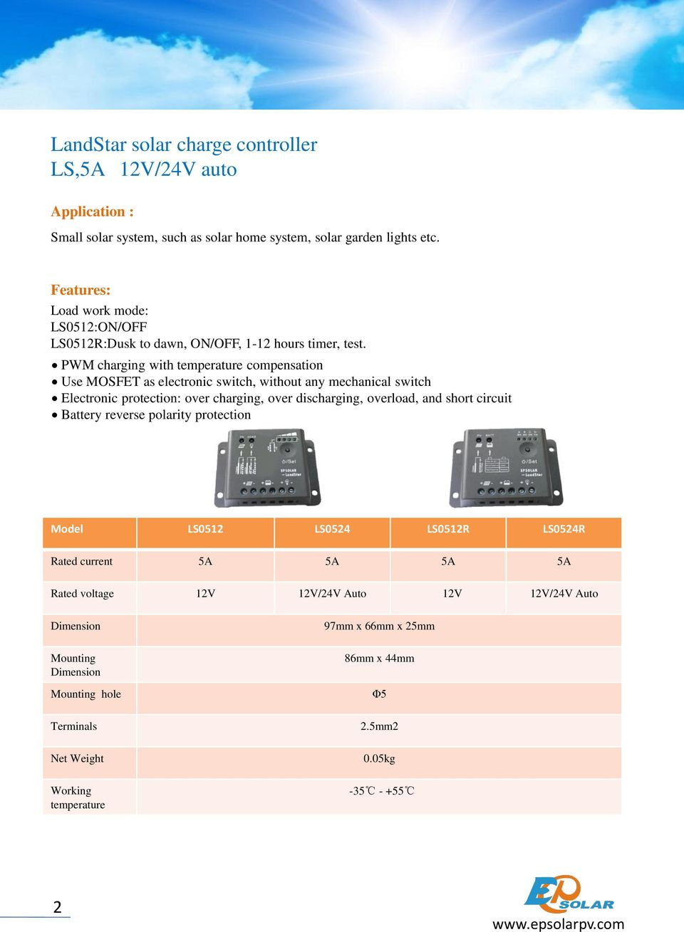 Product Catalogue Solar Charge Controller Inverter Beijing Digital Pwm Missouri Wind And Charging With Temperature Compensation Use Mosfet As Electronic Switch Without Any Mechanical 7 Landstar