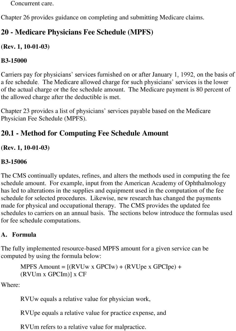 medicare claims processing manual chapter 12 physicians rh docplayer net  Medical Claims Processing Medicare Claim Types
