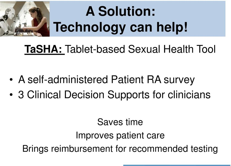 self-administered Patient RA survey 3 Clinical Decision