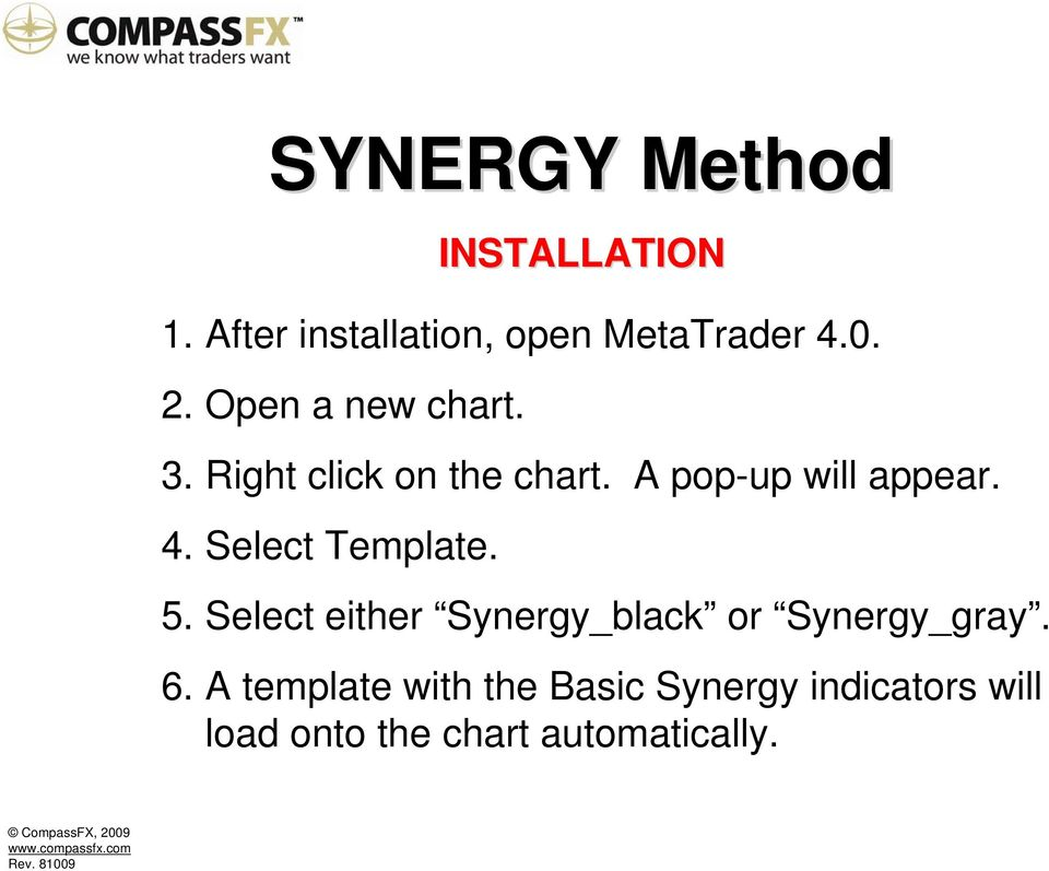 Synergy Trading Method Compassfx Rev Pdf Free Download