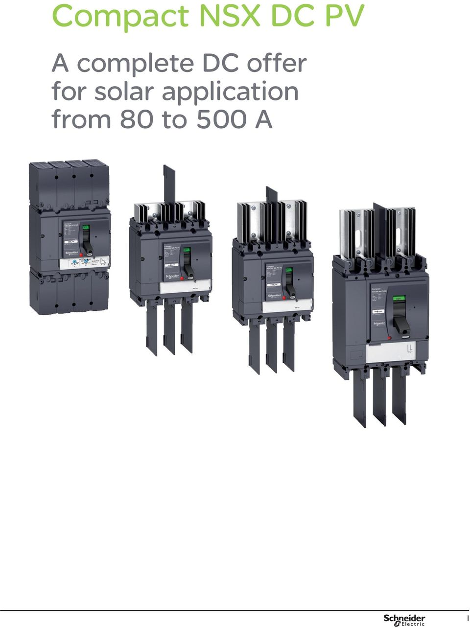 Low Voltage Direct Current Network Compact Nsx Dc Pv Circuit Protection In Lowvoltage Systems Electronics Circuits For You Solar