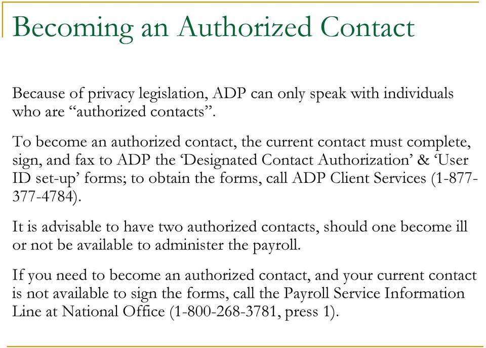 Guide For New Adp Administrators Pdf