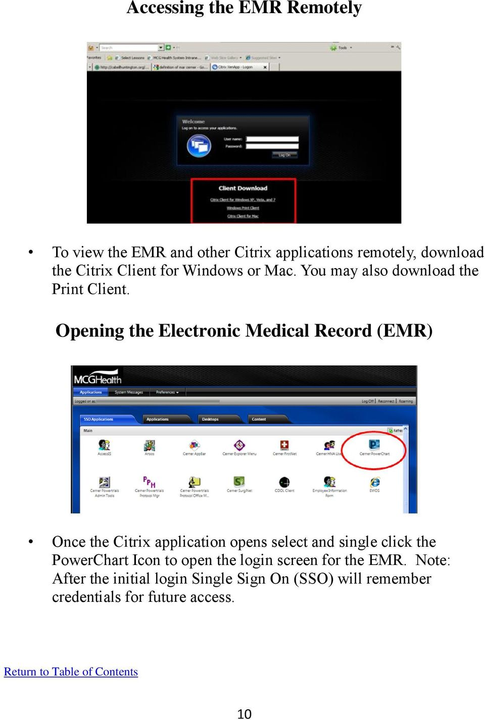 Provider Quick Reference EMR Guide - PDF