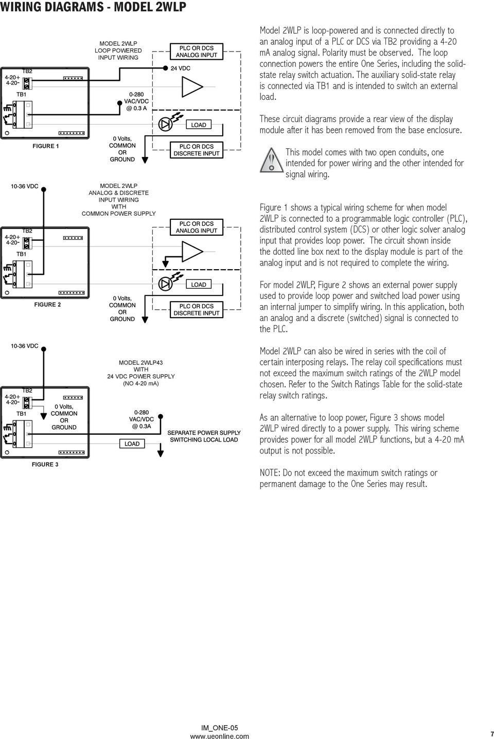 One Series Electronic Pressure And Temperature Switches Pdf Circuit Diagram Besides 4 20ma Signal Generator Also The Auxiliary Solid State Relay Is Connected Via Tb1 Intended To Switch An 8 Wiring Diagrams