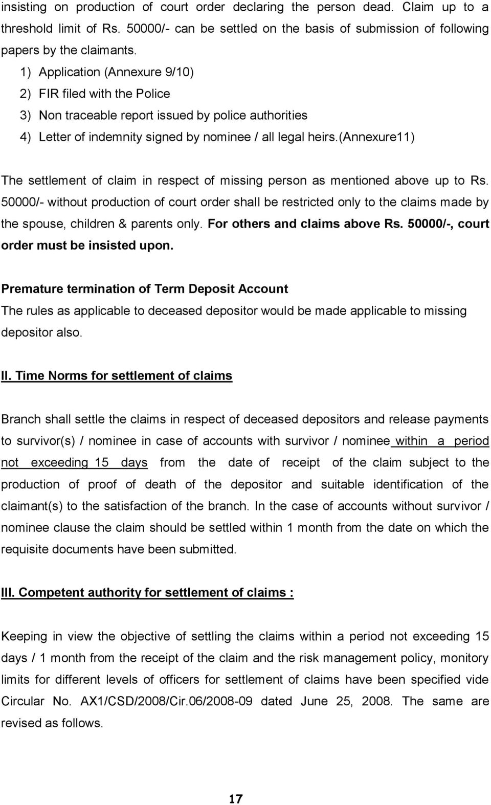 indemnity bond format for lost fixed deposit receipt