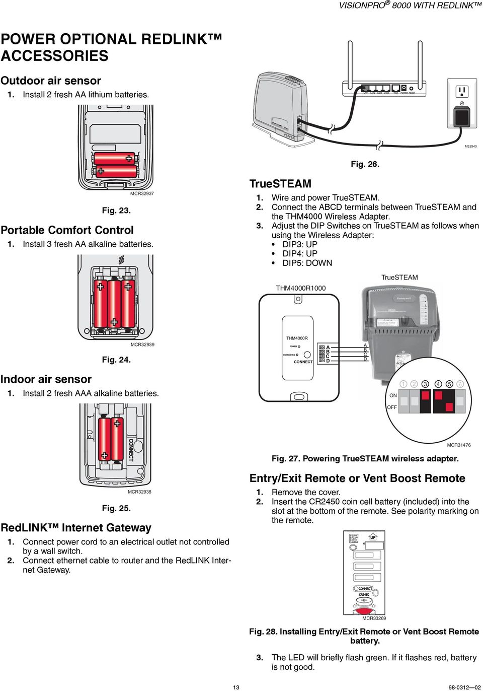 Visionpro 8000 With Redlink Pdf Dry Cell Battery Diagram On Parts Of A Alkaline