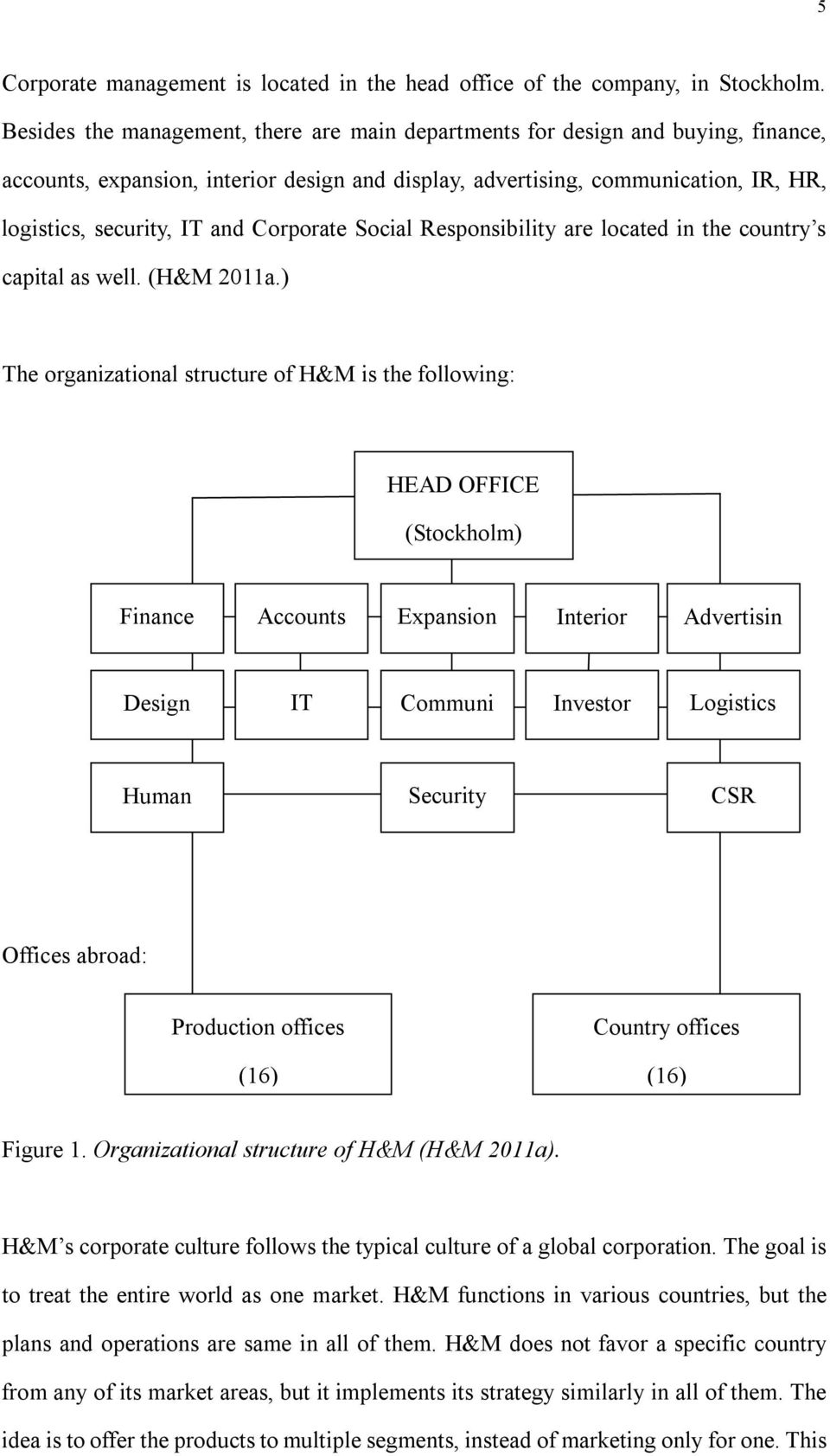 THE IMPORTANCE OF STRATEGIC MANAGEMENT A case study of H&M - PDF