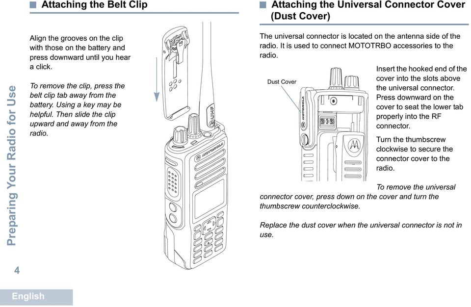 PROFESSIONAL DIGITAL TWO-WAY RADIO MOTOTRBO DGP 8550 EX