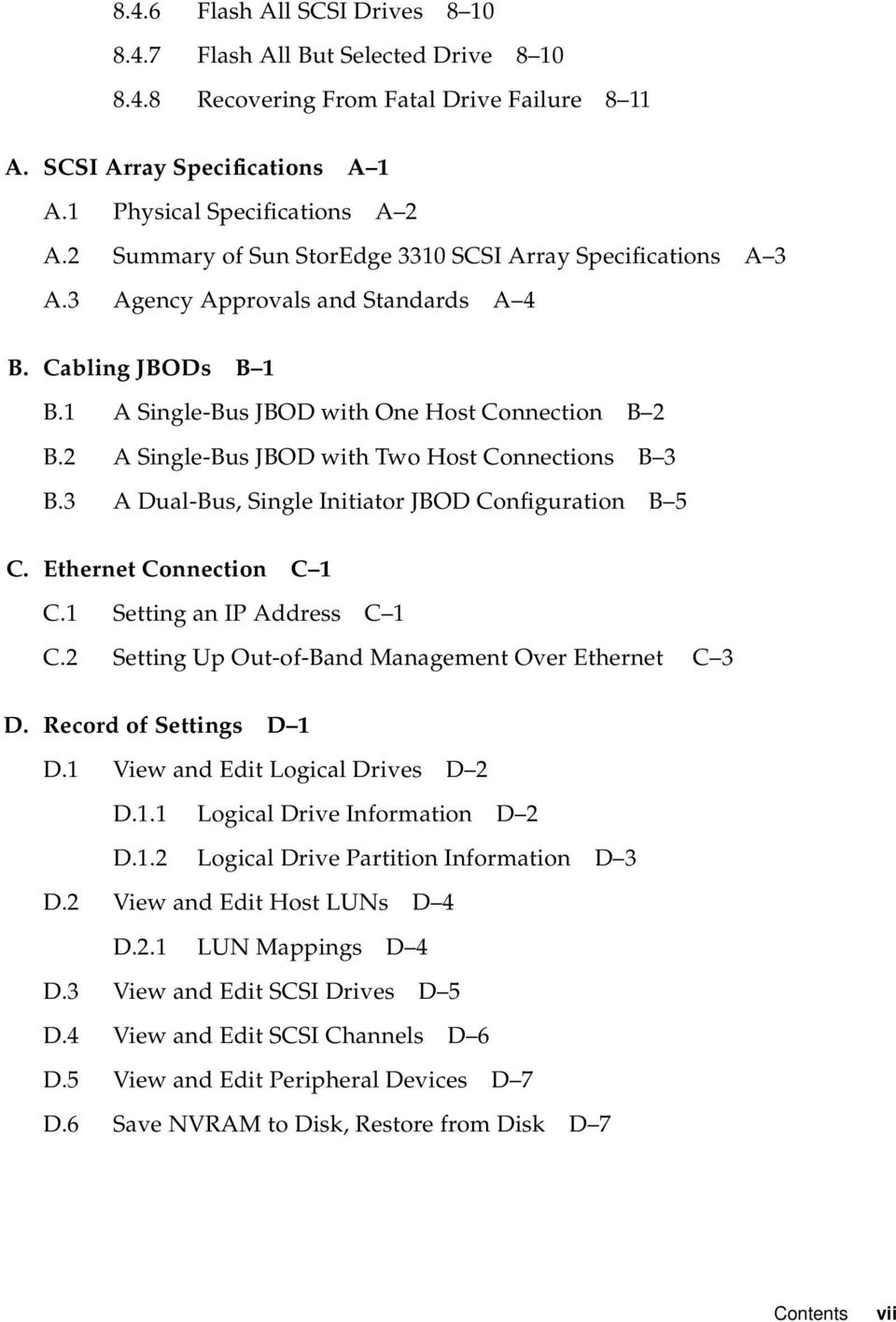 Sun Storedge 3000 Family Installation Operation And Service Manual Jbod Wiring Diagram 2 A Single Bus With Two Host Connections B 3 B3