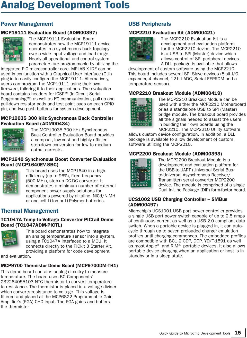 Quick Guide to Microchip Development Tools - PDF