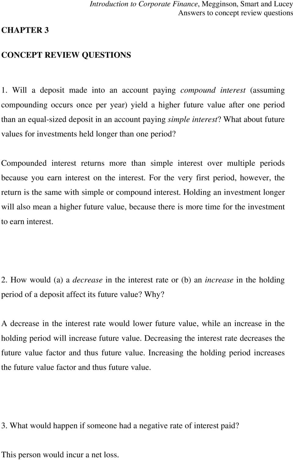 Simple-and-compound-interest-worksheet & Compounding With Multiple ...