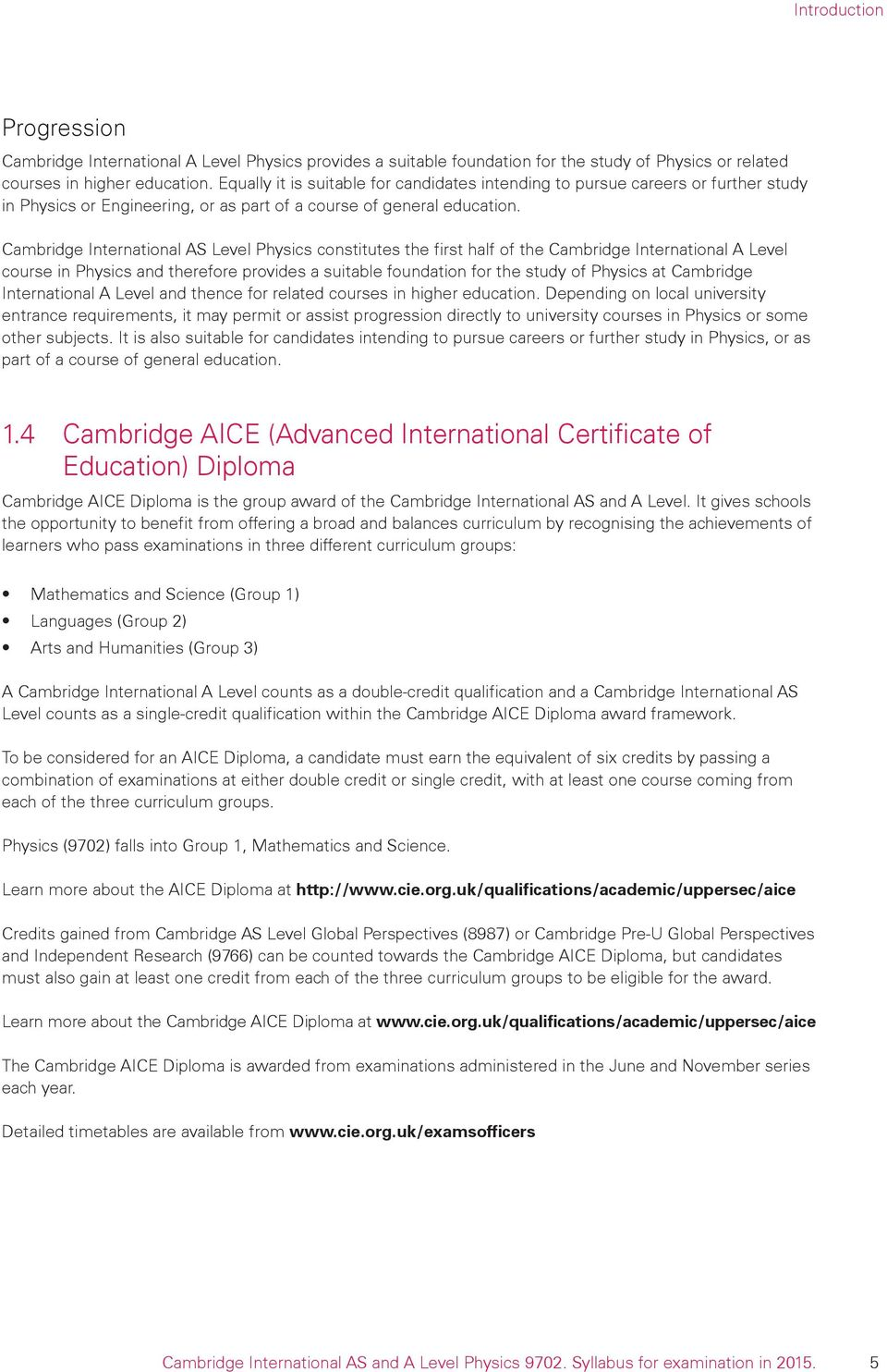 Cambridge International AS Level Physics Constitutes The First Half Of A Course