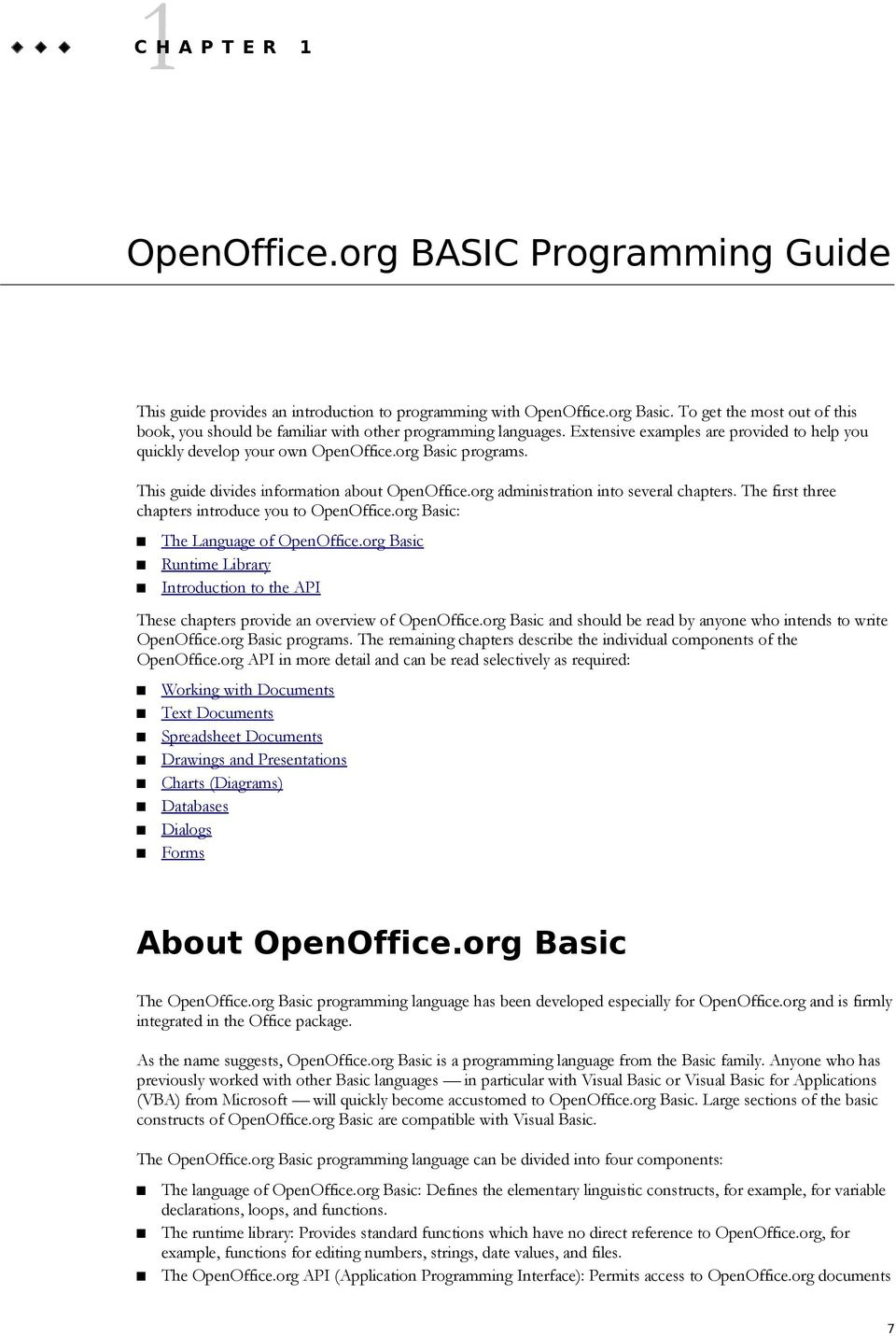 OpenOffice org 3 2 BASIC Guide - PDF