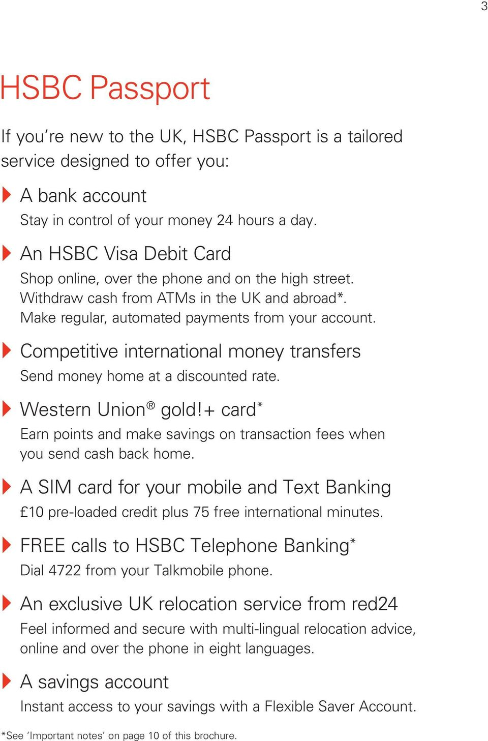 Welcome to HSBC Passport - PDF