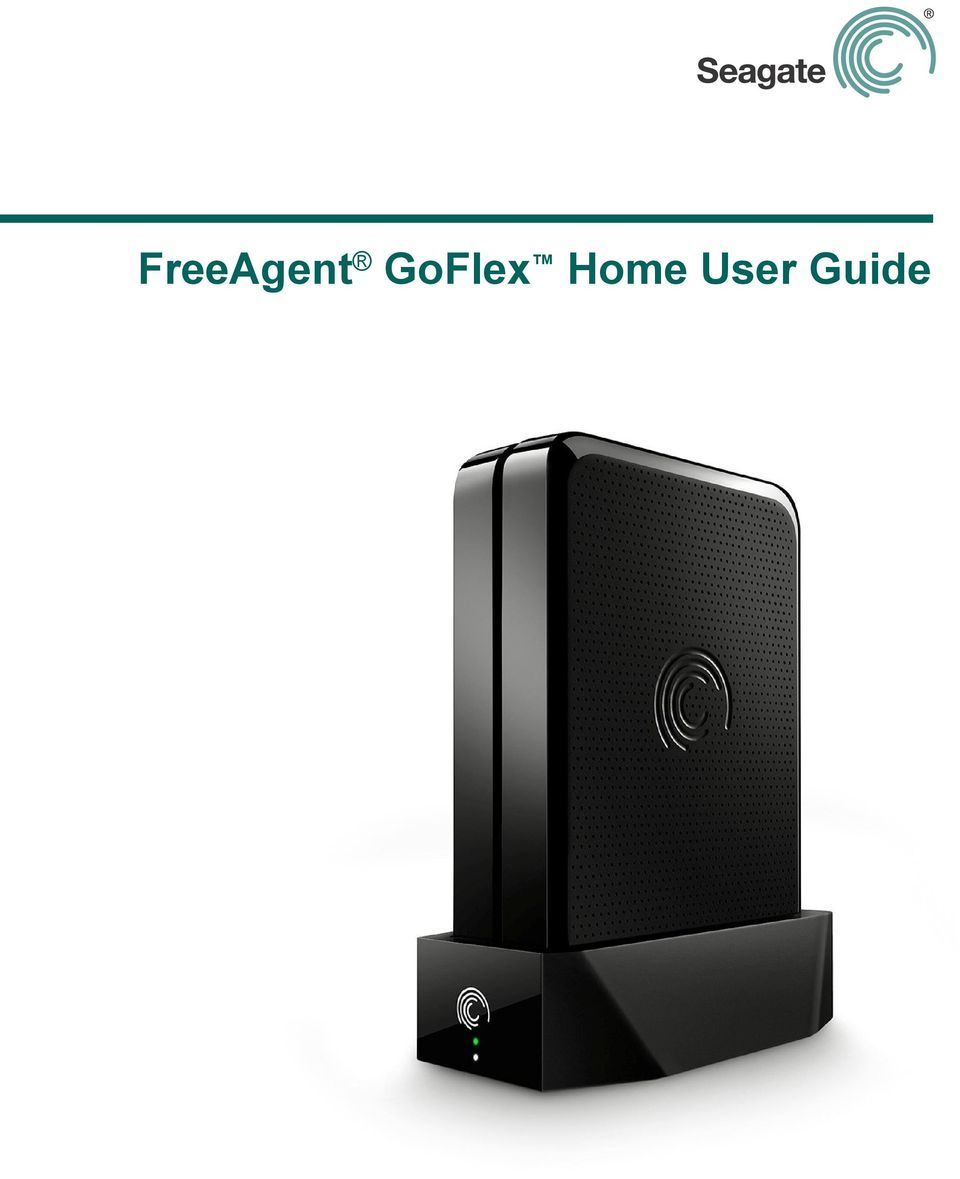 Seagate goflex home default password & login, manuals and reset.