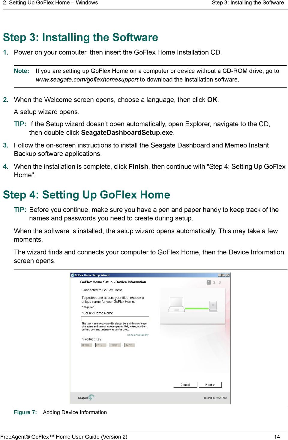 Seagate goflex desk manual.