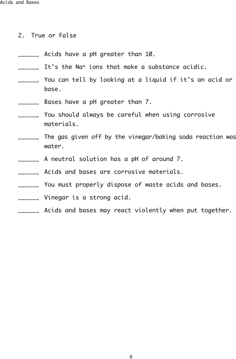 Acids And Bases Safety Precautions Pdf
