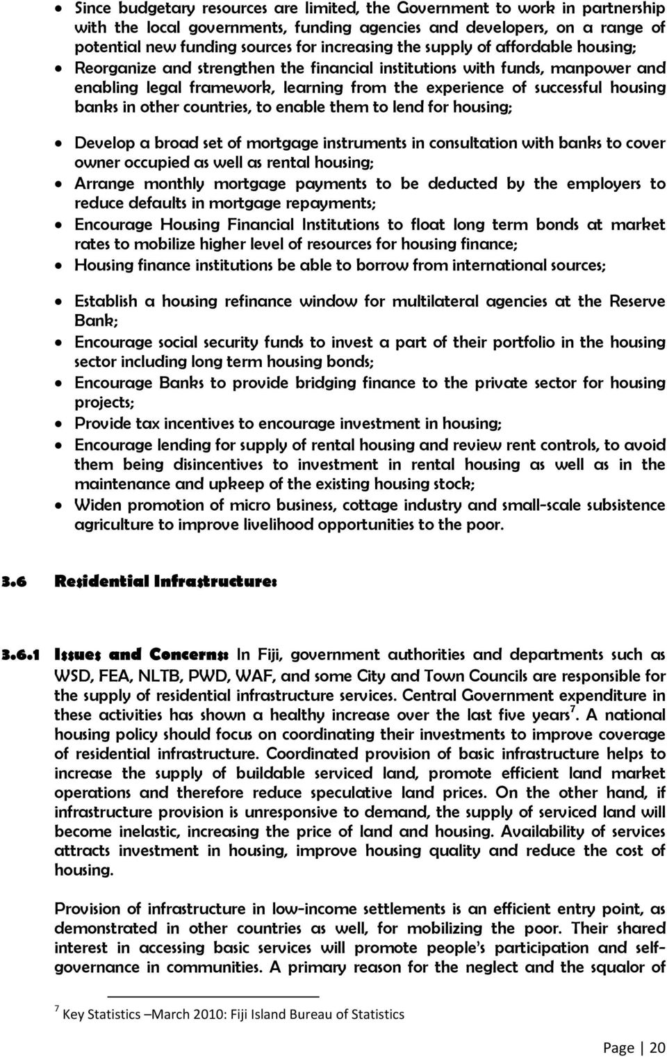 Republic of Fiji The National Housing Policy - PDF