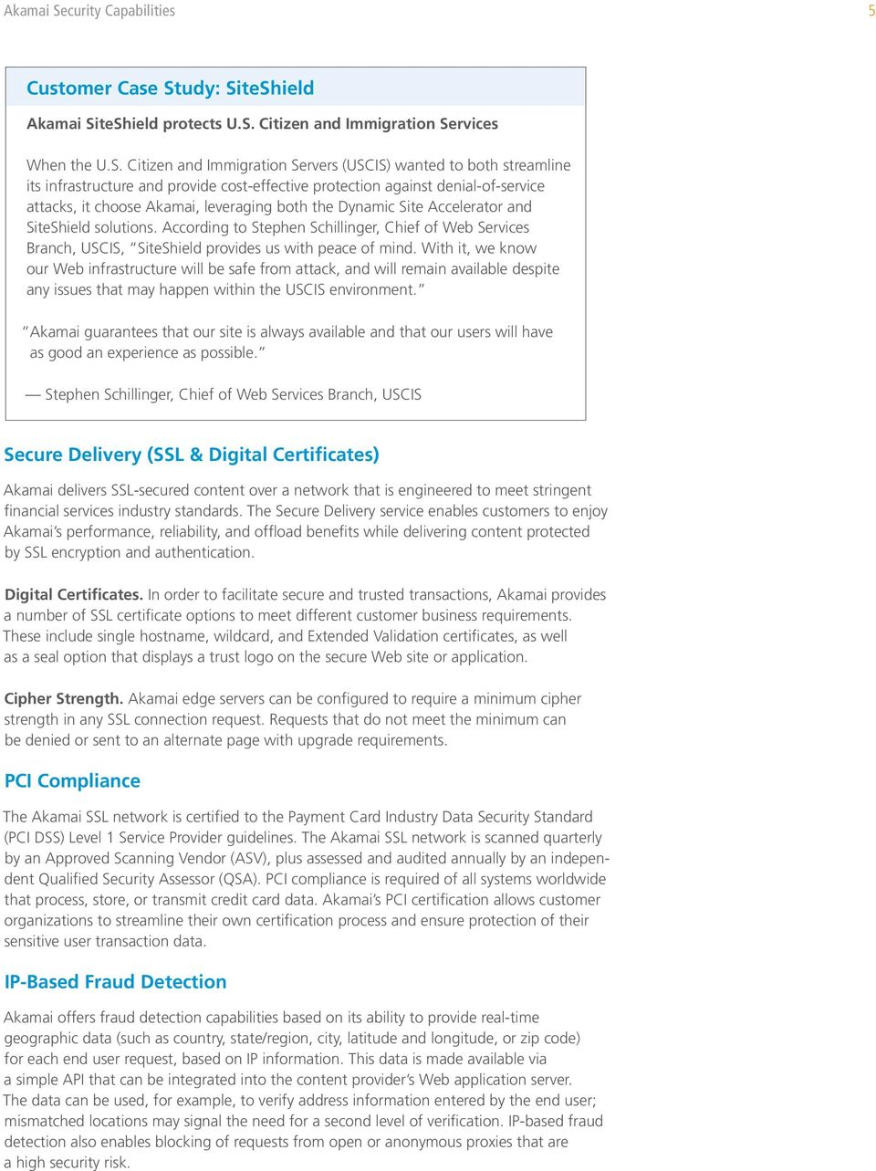 White Paper Akamai Security Capabilities Protecting Your Online