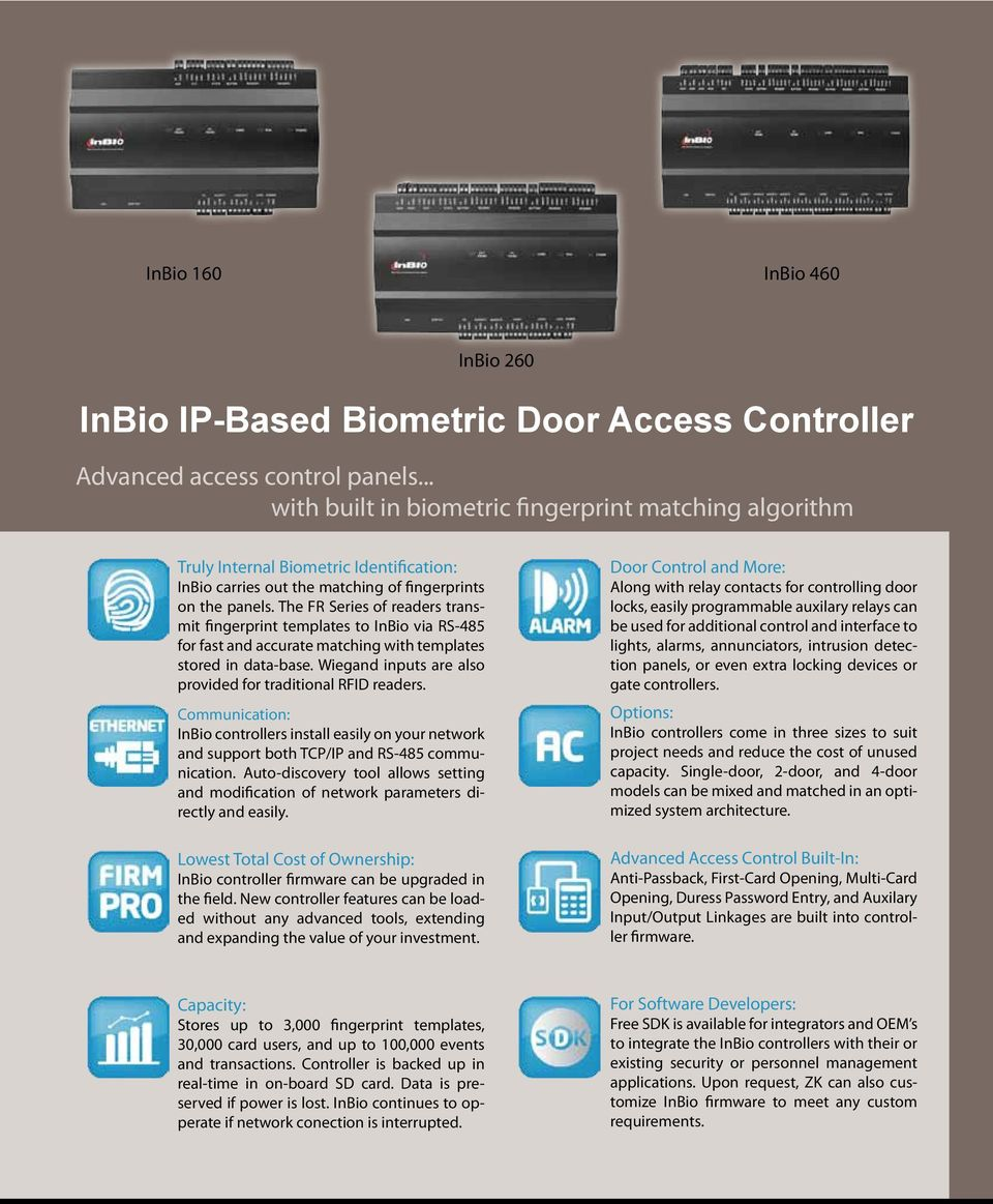 Advanced Biometric and RFID Solutions for Access Control - PDF