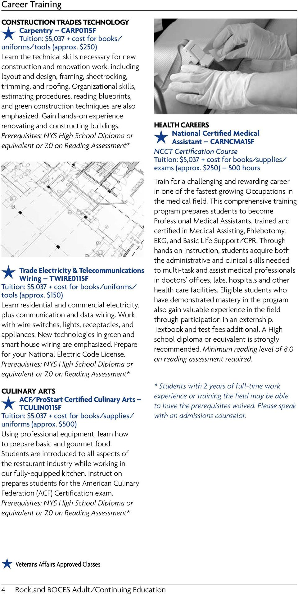 Adult Education Courses Pdf House Wiring Techniques Organizational Skills Estimating Procedures Reading Blueprints And Green Construction Are Also Emphasized