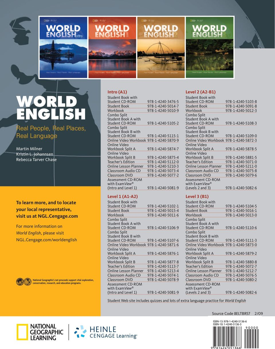 Top Twelve National Geographic Learning World English 3