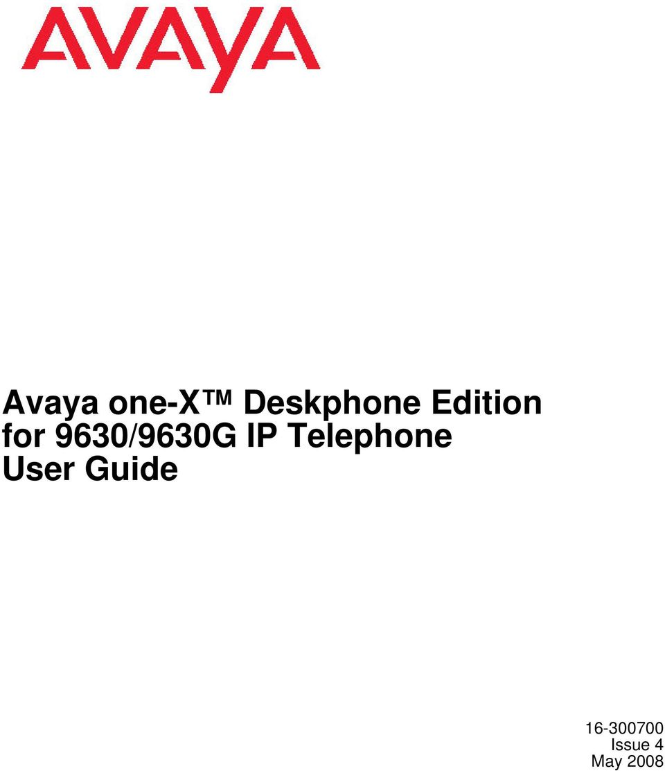 IP Telephone User Guide