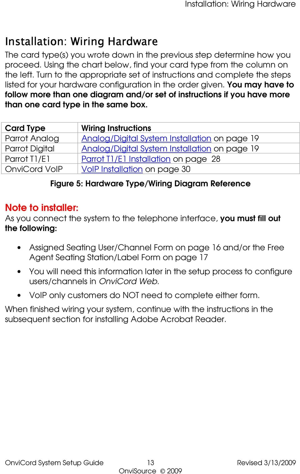System Setup Guide Version 6x Pdf Telephone Interface Box Wiring Diagram You May Have To Follow More Than One And Or Set Of Instructions If