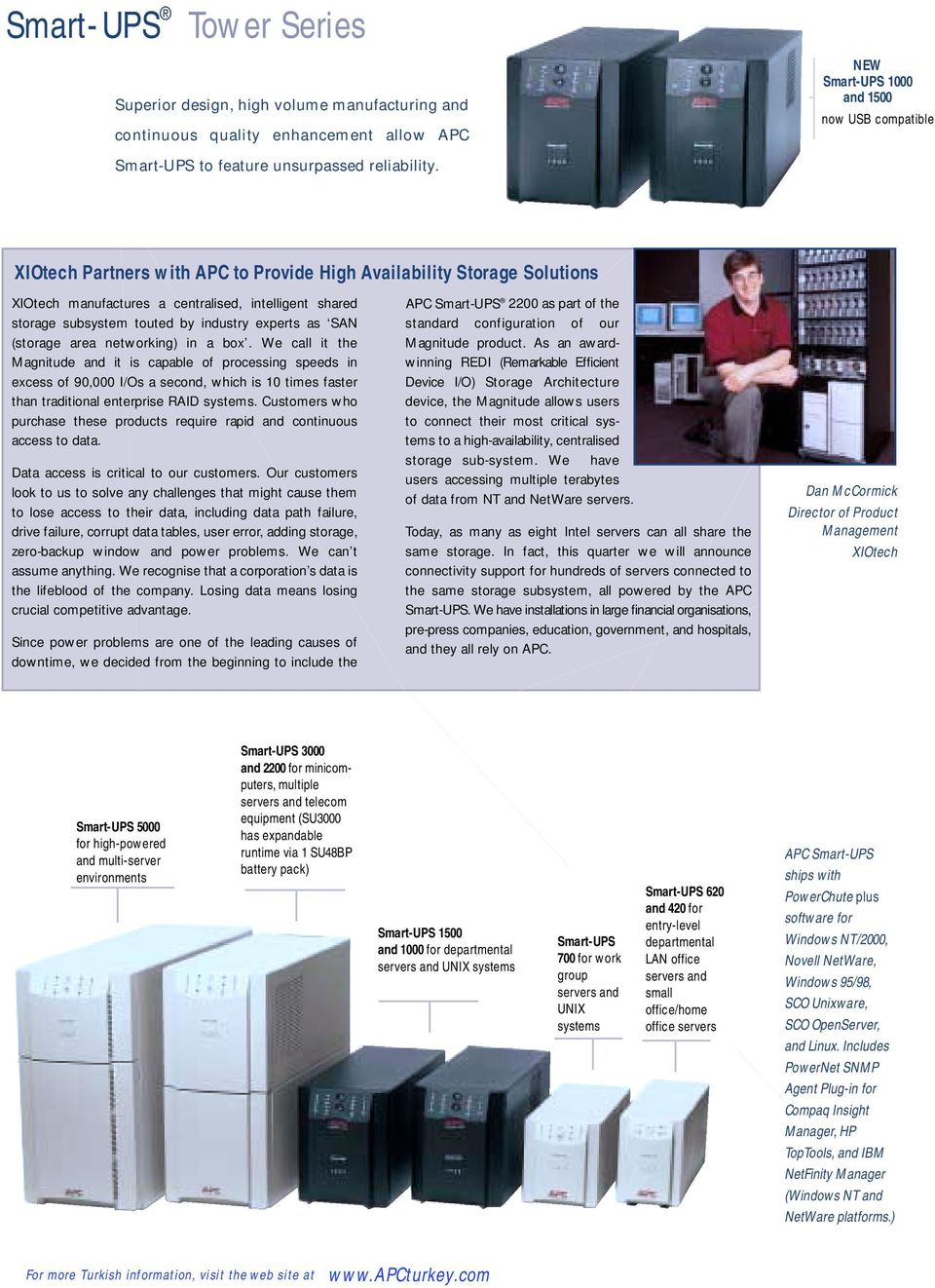 Server and Network Power Solutions - PDF