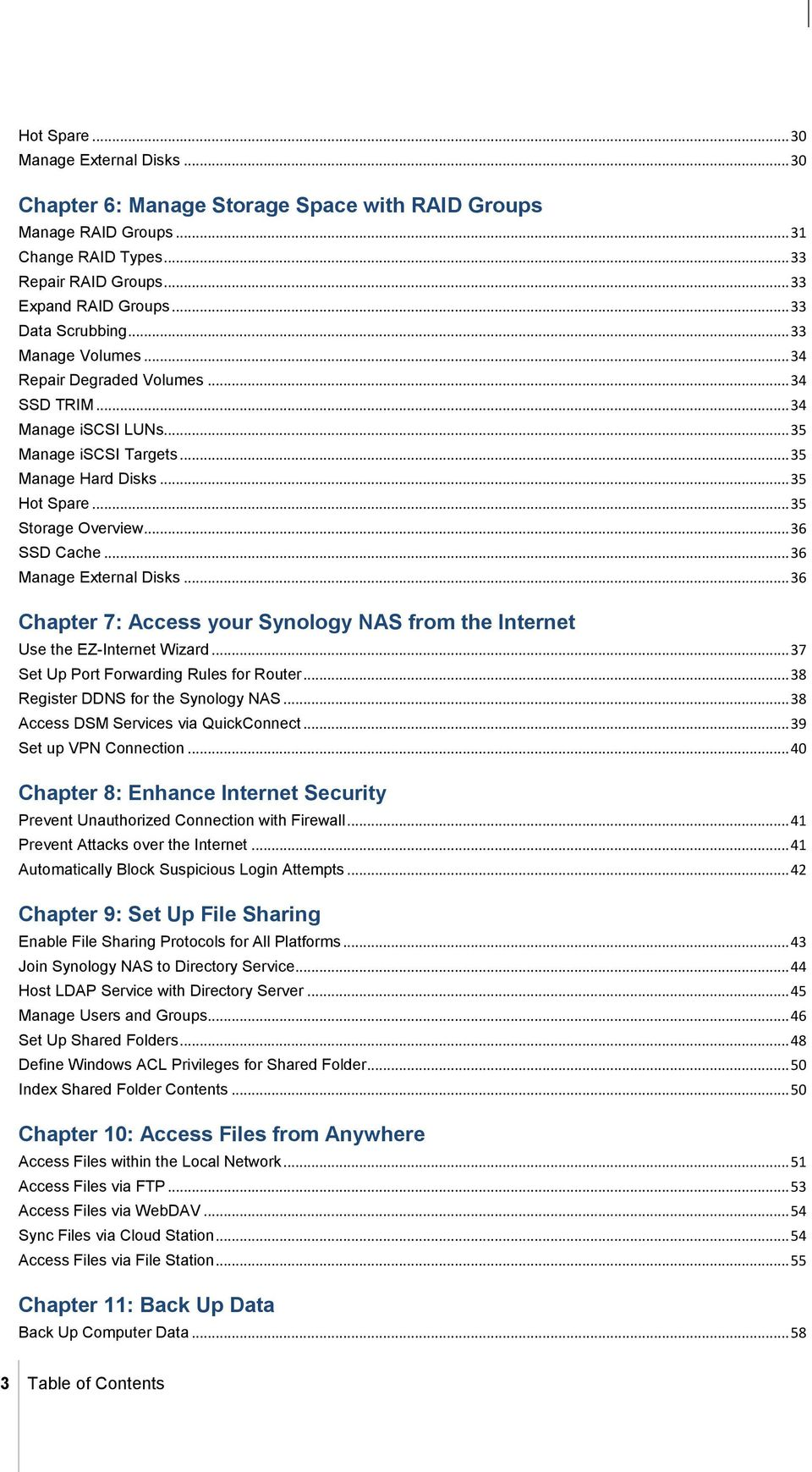 Synology NAS User's Guide - PDF
