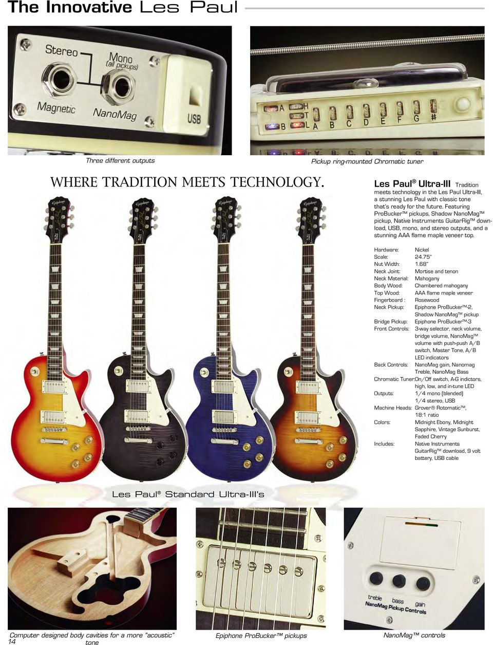 Epiphone Guitar Co  A part of the Gibson family of brands